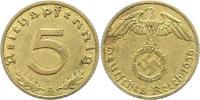 5 Pfennig 1936  A Drittes Reich  Sehr schön - vorzüglich  75,00 EUR  zzgl. 4,00 EUR Versand