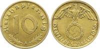 10 Reichspfennig 1936  A Drittes Reich  Vorzüglich  65,00 EUR  zzgl. 4,00 EUR Versand