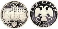 3 Rubel 1999 Russland UDSSR. Polierte Platte  52,00 EUR  zzgl. 4,00 EUR Versand