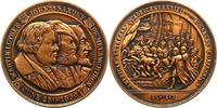 Reformation Bronzemedaille 400-Jahrfeier der Übergabe der Augsburger Konfession.