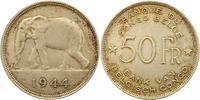 50 Francs 1944 Zaire-Belgisch-Kongo Leopold III. von Belgien 1934-1950.... 110,00 EUR  zzgl. 4,00 EUR Versand