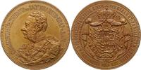 Fugger-Babenhausen-Wellenburg Bronzemedaille Carl Ludwig 1829-1906.