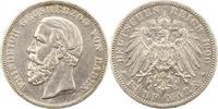 Baden 5 Mark Friedrich I. 1856-1907.