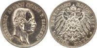 Sachsen 3 Mark Friedrich August III. 1904-1918.