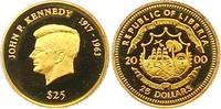 25 Dollar Gold 2000 Liberia Republik. Polierte Platte -  75,00 EUR  zzgl. 4,00 EUR Versand