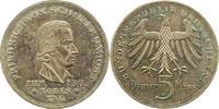 5 Mark 1955  F Münzen der Bundesrepublik Deutschland Mark 1945-2001. Sc... 185,00 EUR  zzgl. 4,00 EUR Versand