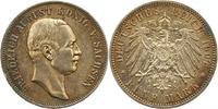 5 Mark 1907  E Sachsen Friedrich August III. 1904-1918. Sehr schön +  75,00 EUR  Excl. 4,00 EUR Verzending