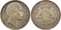 Taler 1861 Bayern Maximilian II. Joseph 1848-1864. Winz. Randfehler, vo... 195,00 EUR  +  4,00 EUR shipping