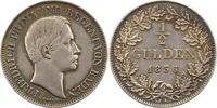 Baden-Durlach 1/2 Gulden Friedrich I. 1852-1907.