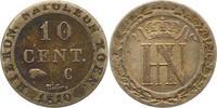 Westfalen, Königreich 10 Centimes Hieronymus Napoleon 1807-1813.