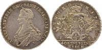 Sachsen-Weimar-Eisenach 1/3 Taler Anna Amalia 1758-1775.