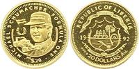 20 Dollar Gold 1992 Liberia Republik. Vorzüglich  65,00 EUR  zzgl. 4,00 EUR Versand