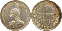 Rupie 1911  J Deutsch Ostafrika  Schöne Patina. Sehr schön +  95,00 EUR  Excl. 4,00 EUR Verzending