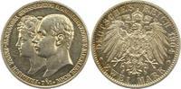Mecklenburg-Schwerin 2 Mark Friedrich Franz IV. 1897-1918.