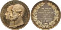 Schaumburg-Lippe Silbermedaille Adolf Georg 1860-1893.