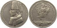 Brandenburg-Preußen Zinnmedaille mit Kupferstift Friedrich II. 1740-1786.