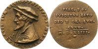 Personenmedaillen Bronzegussmedaille Melanchthon, Philipp *1497 Bretten/Unterpfalz, +1560 Wittenberg, deutscher Human