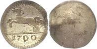 Braunschweig-Calenberg-Hannover Schüsselpfennig 1 Georg Ludwig 1698-1714.