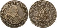 Braunschweig-Lüneburg-Celle 1/2 Taler Christian von Minden 1611-1633.