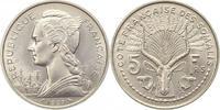 Französisch Somalialand Dschibuti 5 Francs Französisches Überseegebiet 1946-1967.
