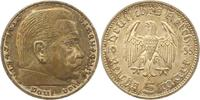 5 Mark 1935  F Drittes Reich  Fast Stempelglanz  65,00 EUR  zzgl. 4,00 EUR Versand