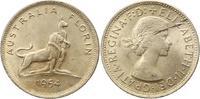 Florin 1954 Australien Elisabeth II. Seit 1952. Schrötlingsfehler, vorz... 8,00 EUR  zzgl. 4,00 EUR Versand
