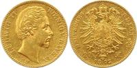 20 Mark Gold 1873  D Bayern Ludwig II. 1864-1886. Schön - sehr schön  388.01 US$ 345,00 EUR free shipping