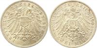 2 Mark 1904  A Lübeck  Prachtexemplar. Fast Stempelglanz  264.30 US$ 235,00 EUR  +  4.50 US$ shipping