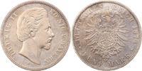 5 Mark 1874  D Bayern Ludwig II. 1864-1886. Fast sehr schön  58.48 US$ 52,00 EUR  +  4.50 US$ shipping