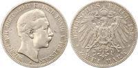 2 Mark 1893  A Preußen Wilhelm II. 1888-1918. Fast sehr schön  16,00 EUR  zzgl. 4,00 EUR Versand