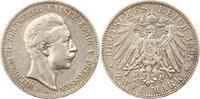2 Mark 1898  A Preußen Wilhelm II. 1888-1918. Sehr schön  20,00 EUR  + 4,00 EUR frais d'envoi