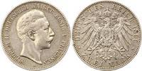 2 Mark 1899  A Preußen Wilhelm II. 1888-1918. Winz. Randfehler, sehr sc... 18,00 EUR  + 4,00 EUR frais d'envoi