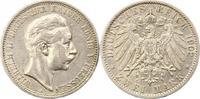 2 Mark 1902  A Preußen Wilhelm II. 1888-1918. Sehr schön  15,00 EUR  + 4,00 EUR frais d'envoi