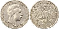 2 Mark 1903  A Preußen Wilhelm II. 1888-1918. Sehr schön  16,00 EUR  + 4,00 EUR frais d'envoi