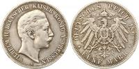 5 Mark 1893  A Preußen Wilhelm II. 1888-1918. Schön - sehr schön  25,00 EUR  zzgl. 4,00 EUR Versand