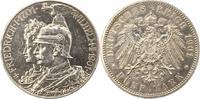 5 Mark 1901 Preußen Wilhelm II. 1888-1918. Berieben, sehr schön - vorzü... 60,00 EUR  + 4,00 EUR frais d'envoi
