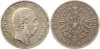 2 Mark 1876  E Sachsen Albert 1873-1902. Fast sehr schön  60,00 EUR  + 4,00 EUR frais d'envoi