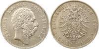 5 Mark 1875  E Sachsen Albert 1873-1902. Schön - sehr schön  55,00 EUR  + 4,00 EUR frais d'envoi