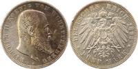 5 Mark 1893  F Württemberg Wilhelm II. 1891-1918. Winz. Randfehler, seh... 40,00 EUR  + 4,00 EUR frais d'envoi