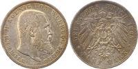 5 Mark 1895  F Württemberg Wilhelm II. 1891-1918. Winz. Kratzer, sehr s... 38,00 EUR  + 4,00 EUR frais d'envoi