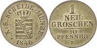 Neugroschen 1852  F Sachsen-Albertinische Linie Friedrich August II. 18... 42,00 EUR  zzgl. 4,00 EUR Versand