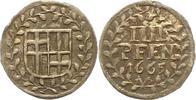 4 Pfennig 1665 Trier-Erzbistum Carl Caspar von der Leyen 1652-1676. Vor... 75,00 EUR  zzgl. 4,00 EUR Versand