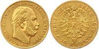 10 Mark Gold 1879  A Preußen Wilhelm I. 1861-1888. Winz. Kratzer, sehr ... 196.82 US$ 175,00 EUR  +  4.50 US$ shipping