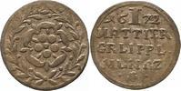 Mattier 1672 Lippe, Grafschaft Simon Heinrich 1666-1697. Sehr schön  25,00 EUR  + 4,00 EUR frais d'envoi