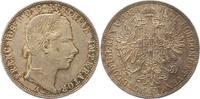 Gulden 1858  A Haus Habsburg Franz Joseph I. 1848-1916. Winz. Kratzer, ... 30,00 EUR  + 4,00 EUR frais d'envoi