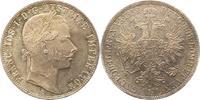 Gulden 1859  A Haus Habsburg Franz Joseph I. 1848-1916. Fast Stempelglanz  50,00 EUR  + 4,00 EUR frais d'envoi