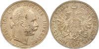 Gulden 1884 Haus Habsburg Franz Joseph I. 1848-1916. Winz. Fleck, fast ... 22,00 EUR  + 4,00 EUR frais d'envoi