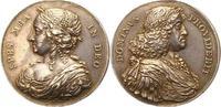 Silbermedaille 1648-1670 Dänemark Frederik III. 1648-1670. Schöne Patin... 444.24 US$ 395,00 EUR free shipping