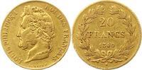 20 Francs Gold 1840  A Frankreich Louis Philipp 1830-1848. Sehr schön  275.54 US$ 245,00 EUR  +  4.50 US$ shipping