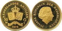 50 Gulden Gold 1979 Niederlandische Antillen  Vorzüglich - Stempelglanz  130,00 EUR  + 4,00 EUR frais d'envoi